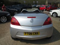 USED 2006 06 VAUXHALL TIGRA 1.4 SPORT 16V 2d 90 BHP ELECTRIC ROOF - AIR CONDITIONING