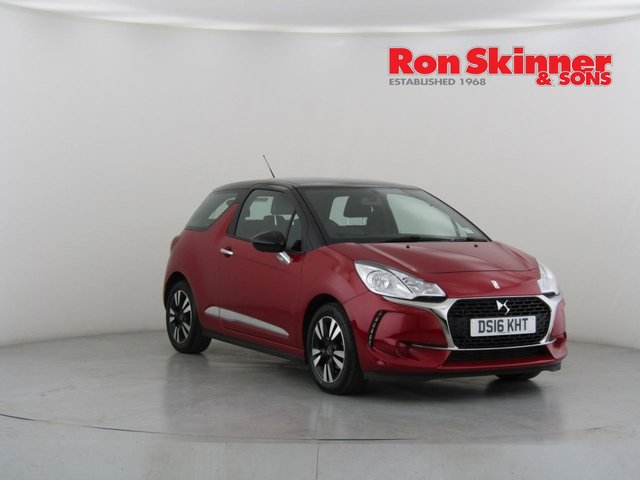 View our 2016 10 DS DS 3 1.2 PURETECH CHIC 3d 80 BHP