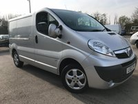 2012 VAUXHALL VIVARO 115PS 6 SPEED SPORTIVE **NO VAT** £3795.00