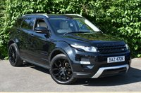 "USED 2013 13 LAND ROVER RANGE ROVER EVOQUE 2.2 SD4 Dynamic SUV 5dr Diesel Automatic AWD (174 g/km, 190 bhp) PANORAMIC ROOF BLACK PACK 20""S"