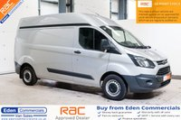2014 FORD TRANSIT CUSTOM 2.2 310 LR P/V *HIGH TOP + LOW MILEAGE* £9995.00