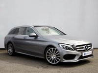 USED 2015 65 MERCEDES-BENZ C CLASS 2.1 C250 D AMG LINE PREMIUM PLUS 5d AUTO 204 BHP COMAND SAT NAV with FULL PANORAMIC GLASS SUNROOF & MUCH MORE......