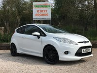 USED 2010 10 FORD FIESTA 1.6 ZETEC S 3dr Parking Sensors, Low Miles