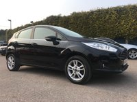 USED 2016 65 FORD FIESTA 1.2 ZETEC 5d ONE PRIVATE OWNER FROM NEW  NO DEPOSIT  PCP/HP FINANCE ARRANGED, APPLY HERE NOW