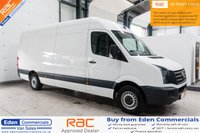 USED 2016 66 VOLKSWAGEN CRAFTER 2.0 CR35 TDI P/V L BMT 107 BHP