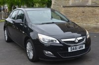 USED 2011 61 VAUXHALL ASTRA 1.4 EXCITE 5 DOOR