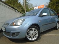 USED 2006 55 FORD FIESTA 1.4 GHIA 16V 5d 80 BHP GUARANTEED TO BEAT ANY 'WE BUY ANY CAR' VALUATION ON YOUR PART EXCHANGE