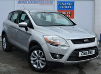 USED 2011 FORD KUGA 2.0 TITANIUM TDCI AWD 5d 4x4 Family SUV AUTO with Lovely Low Mileage and Great High Spec inc Ft and Rr Parking Sensors DAB Digital Radio and Ready to Drive Away Today PREVIOUSLY LOCALLY OWNED + GOOD SERVICE HISTORY