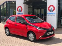 USED 2016 16 TOYOTA AYGO 1.0 VVT-I X 5d 69 BHP 1 OWNER | IDEAL FIRST CAR