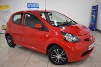 2006 TOYOTA AYGO 1.0 VVT-I PLUS 5d AUTO 67 BHP £3695.00