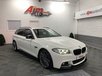 USED 2014 64 BMW 5 SERIES 2.0 520D M SPORT TOURING 5d AUTO 188 BHP