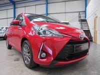 2017 TOYOTA YARIS 1.5 VVT-I ICON 5d AUTO 110 BHP £10495.00