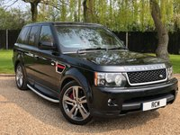 2012 LAND ROVER RANGE ROVER SPORT 3.0 SDV6 HSE RED 5d AUTO 255 BHP £18995.00