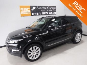 2015 LAND ROVER RANGE ROVER EVOQUE 2.2 SD4 PURE TECH 5d 190 BHP £16500.00