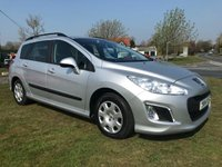 USED 2014 14 PEUGEOT 308 1.6 E-HDI SW ACCESS ESTATE  115 BHP FSH VERY NICE WELL LOOKED AFTER CAR