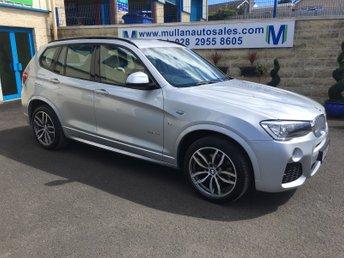 2017 BMW X3 3.0 XDRIVE30D M SPORT 5d AUTO 255 BHP £25995.00