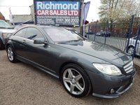 USED 2010 10 MERCEDES-BENZ CL 5.5 CL500 2d AUTO 387 BHP BIG SPEC CAR, GREAT VALUE, LEATHER INTERIOR,