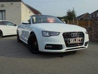 2014 AUDI A5 2.0 TDI S LINE SPECIAL EDITION 2d AUTO 175 BHP £16450.00