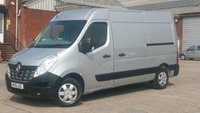 2016 RENAULT MASTER 2.3 MM35 BUSINESS PLUS DCI S/R P/V 1d 125 BHP 1 OWNER F/S/H FREE 12 MONTHS WARRANTY COVER  £7390.00