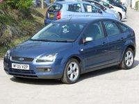 2005 FORD FOCUS 1.6 ZETEC CLIMATE D 5d 108 BHP £1995.00