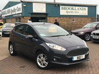 2015 FORD FIESTA 1.0 ZETEC 5d AUTOMATIC Magnetic Grey Met. 100 BHP Only done 11,000 Miles  £9995.00
