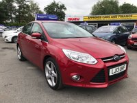 USED 2013 13 FORD FOCUS 2.0 TITANIUM X TDCI 5d 161 BHP IN A SPECIAL METALLIC RED WITH ONLY 69000 MILES AND A FULL FORD SERVICE HISTORY APPROVED CARS ARE PLEASED TO OFFER THIS FORD FOCUS 2.0 TITANIUM X TDCI 5 DOOR 161 BHP IN A SPECIAL METALLIC RED WITH ONLY 69000 MILES AND A FULL SERVICE HISTORY (THIS CAR IS DUE INTO STOCK 18/04/19 MORE INFO AND PICS WILL BE AVAILABLE THEN)