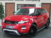 2012 LAND ROVER RANGE ROVER EVOQUE 2.2 SD4 DYNAMIC 5d AUTO 190 BHP £SOLD