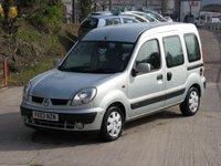 2003 RENAULT KANGOO 1.6 EXPRESSION 16V 5d AUTO 95 BHP £1995.00
