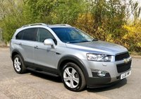 USED 2012 61 CHEVROLET CAPTIVA 2.2 LTZ VCDI 5d AUTO, TOP SPEC, SAT NAV, HEATED LEATHER, REAR CAMERA