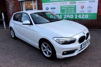2016 BMW 1 SERIES 1.5 116D ED PLUS 5d 114 BHP £10000.00