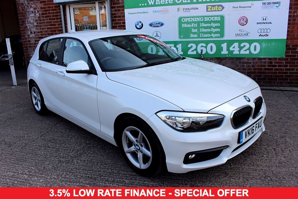 2016 16 BMW 1 SERIES 1.5 116D ED PLUS 5d 114 BHP