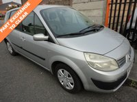 USED 2005 05 RENAULT SCENIC 1.6 EXPRESSION 16V 5d 116 BHP
