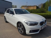 2015 BMW 1 SERIES 1.5 116D SPORT 5d 114 BHP £9990.00