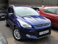 USED 2016 66 FORD KUGA 2.0 TITANIUM TDCI 5d 148 BHP ANY PART EXCHANGE WELCOME, COUNTRY WIDE DELIVERY ARRANGED, HUGE SPEC