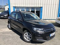 USED 2014 14 VOLKSWAGEN TIGUAN 2.0 S TDI BLUEMOTION TECHNOLOGY 5d 109 BHP