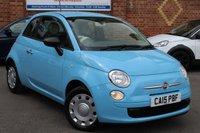 USED 2015 15 FIAT 500 1.2 TWINAIR LOUNGE 3d 105 BHP £20.00 12m Tax