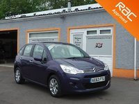 "USED 2013 63 CITROEN C3 1.0 VTR PLUS 5d 67 BHP 15"" Alloys, Air Con, Bluetooth, Cruise Control"