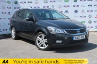 USED 2013 13 KIA CEED 1.6 CRDI 4 SW 5d AUTO 126 BHP AUTO,LEATHER,SAT NAV,BLUETOOTH
