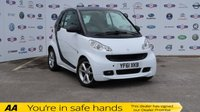 USED 2011 61 SMART FORTWO 1.0 PULSE MHD 2d AUTO 71 BHP LOW INS, £0 TAX, HUGE MPG, A/C