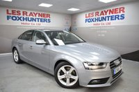 USED 2015 65 AUDI A4 2.0 TDI SE TECHNIK 4d 134 BHP Sat Nav, Bluetooth, Cruise control, Full Leather, Cheap Tax