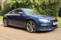 2015 AUDI TT 2.0 TFSI S LINE 2d AUTO 227 BHP £19495.00