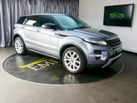USED 2013 63 LAND ROVER RANGE ROVER EVOQUE 2.2 SD4 DYNAMIC LUX 5d AUTO 190 BHP £0 DEPOSIT FINANCE AVAILABLE, AIR CONDITIONING, ANALOGUE & DIGITAL TV RECEPTION, AUX INPUT, BLUETOOTH CONNECTIVITY, BLIND SPOT MONITORING, CLIMATE CONTROL, CRUISE CONTROL, DAB RADIO, DAYTIME RUNNING LIGHTS, DRIVE SELECT WITH SPORT MODE, ELECTRONIC PARKING BRAKE, FULL LEATHER UPHOLSTERY, GEARSHIFT PADDLES, HEATED SEATS, PANORAMIC GLASS ROOF, PARKING SENSORS, REVERSE CAMERA, SATELLITE NAVIGATION, START/STOP SYSTEM, STEERING WHEEL CONTROLS, TERRAIN RESPONSE, TRIP COMPUTER