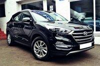 2016 HYUNDAI TUCSON 1.7 CRDI SE NAV BLUE DRIVE 5d 114 BHP £12650.00