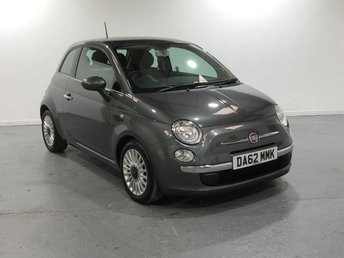 2012 FIAT 500 0.9 LOUNGE 3d 85 BHP £0 ROAD TAX BAND! £4195.00