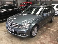 2011 MERCEDES-BENZ C CLASS 2.1 C220 CDI (168 bhp) BLUEEFFICIENCY ELEGANCE 5dr ESTATE AUTO £5990.00