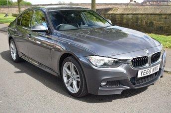 2015 BMW 3 SERIES 2.0 320D XDRIVE M SPORT 4d AUTO 188 BHP £14999.00