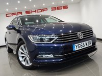 "USED 2015 65 VOLKSWAGEN PASSAT 2.0 TDI (150 bhp) SE BUSINESS TECHNOLOGY 4dr..NAV 17""+PARKING AID+PRIVACY+NAV+CRUISE+CLIMATE+E/SEATS"