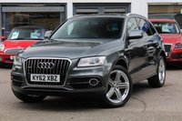 USED 2012 62 AUDI Q5 2.0 TDI 177PS QUATTRO S LINE PLUS S-TRONIC AUTOMATIC SAT-NAV ** F&R PARK AID ** XENONS WITH LED DRLS ** PRIVACY GLASS **