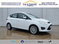 USED 2014 14 FORD C-MAX 2.0 TITANIUM TDCI 5d AUTO 138 BHP One Owner Full Dealer History Buy Now, Pay Later Finance!