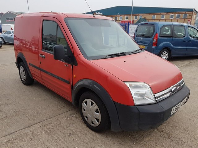 7772521115 2007 07 FORD TRANSIT CONNECT 1.8 T200 L SWB 75 TDCI NO VAT TO PAY